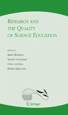 Research and the Quality of Science Education (eBook, PDF)