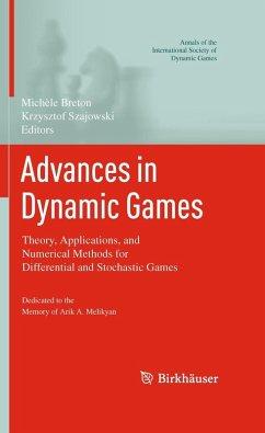 Advances in Dynamic Games (eBook, PDF)