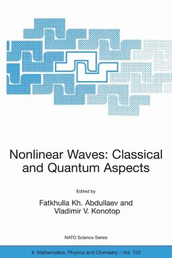 Nonlinear Waves: Classical and Quantum Aspects (eBook, PDF)
