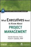 What Executives Need to Know About Project Management (eBook, ePUB)