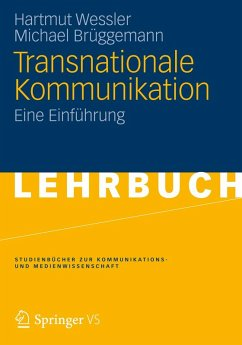 Transnationale Kommunikation (eBook, PDF) - Wessler, Hartmut; Brüggemann, Michael