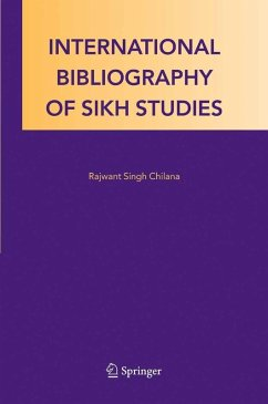 International Bibliography of Sikh Studies (eBook, PDF) - Chilana, Rajwant Singh