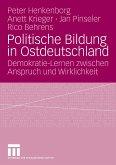 Politische Bildung in Ostdeutschland (eBook, PDF)