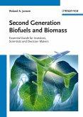 Second Generation Biofuels and Biomass (eBook, PDF)