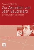 Zur Aktualität von Jean Baudrillard (eBook, PDF)