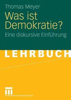 Was ist Demokratie? (eBook, PDF) - Meyer, Thomas