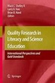 Quality Research in Literacy and Science Education (eBook, PDF)