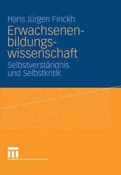 Erwachsenenbildungswissenschaft (eBook, PDF) - Finckh, Hans Jürgen