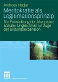 Meritokratie als Legitimationsprinzip (eBook, PDF)