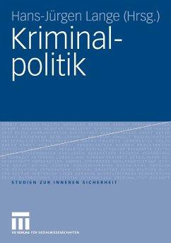 Kriminalpolitik (eBook, PDF)