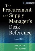 The Procurement and Supply Manager's Desk Reference (eBook, PDF)