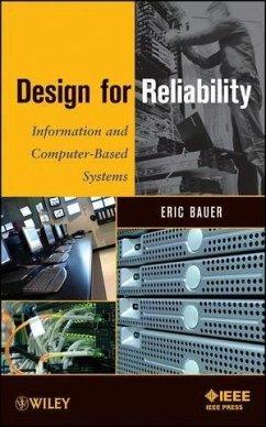 Design for Reliability (eBook, PDF) - Bauer, Eric