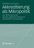 Akkreditierung als Mikropolitik (eBook, PDF)