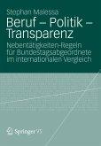 Beruf - Politik - Transparenz (eBook, PDF)
