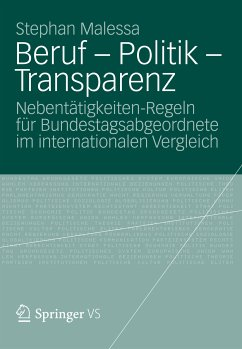 Beruf - Politik - Transparenz (eBook, PDF) - Malessa, Stephan