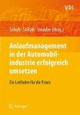 Anlaufmanagement in der Automobilindustrie erfolgreich umsetzen (eBook, PDF)