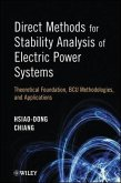 Direct Methods for Stability Analysis of Electric Power Systems (eBook, ePUB)