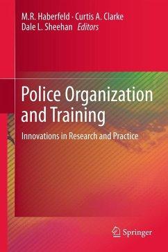 Police Organization and Training (eBook, PDF)