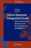 Silicon Quantum Integrated Circuits (eBook, PDF)
