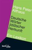 Deutsche Wörter jiddischer Herkunft (eBook, ePUB)
