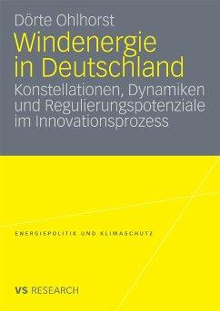 Windenergie in Deutschland (eBook, PDF) - Ohlhorst, Dörte