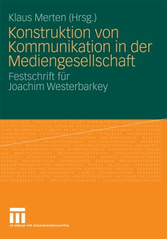 Konstruktion von Kommunikation in der Mediengesellschaft (eBook, PDF)