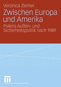 Zwischen Europa und Amerika (eBook, PDF) - Ziemer, Veronica