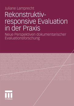 Rekonstruktiv-responsive Evaluation in der Praxis (eBook, PDF) - Lamprecht, Juliane