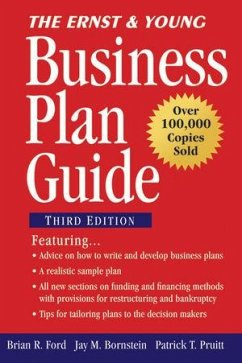 The Ernst & Young Business Plan Guide (eBook, ePUB) - Bornstein, Jay M.; Ford, Brian R.; Pruitt, Patrick