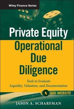 Private Equity Operational Due Diligence (eBook, ePUB) - Scharfman, Jason A.