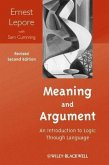Meaning and Argument (eBook, ePUB)