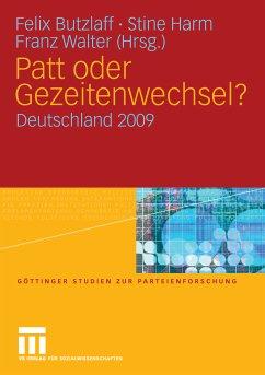 Patt oder Gezeitenwechsel? (eBook, PDF) - Walter, Franz; Harm, Stine; Butzlaff, Felix