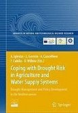 Coping with Drought Risk in Agriculture and Water Supply Systems (eBook, PDF)