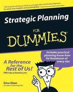 Strategic Planning For Dummies (eBook, ePUB) - Olsen, Erica
