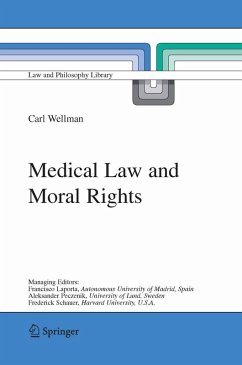 Medical Law and Moral Rights (eBook, PDF) - Wellman, Carl