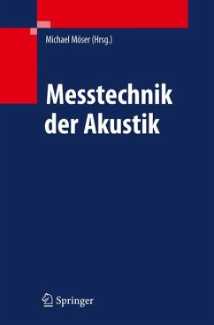 Messtechnik der Akustik (eBook, PDF)