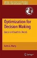 Optimization for Decision Making (eBook, PDF) - Murty, Katta G