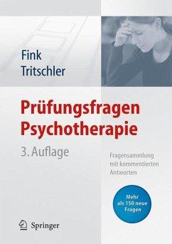 Prüfungsfragen Psychotherapie (eBook, PDF) - Fink, Anette; Tritschler, Claudia