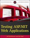 Testing ASP.NET Web Applications (eBook, ePUB)