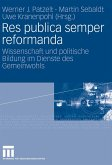 Res publica semper reformanda (eBook, PDF)