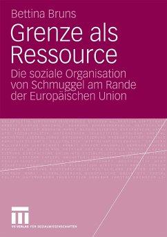 Grenze als Ressource (eBook, PDF) - Bruns, Bettina