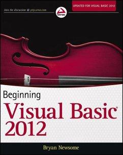 Beginning Visual Basic 2012 (eBook, PDF) - Newsome, Bryan