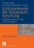 Schlüsselwerke der Sozialraumforschung (eBook, PDF)