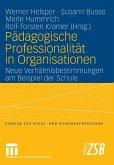Pädagogische Professionalität in Organisationen (eBook, PDF)