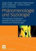 Phänomenologie und Soziologie (eBook, PDF)