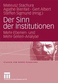 Der Sinn der Institutionen (eBook, PDF)
