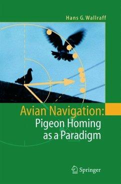 Avian Navigation: Pigeon Homing as a Paradigm (eBook, PDF) - Wallraff, Hans G.