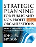 Strategic Planning for Public and Nonprofit Organizations (eBook, PDF)