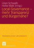 Local Governance - mehr Transparenz und Bürgernähe? (eBook, PDF)