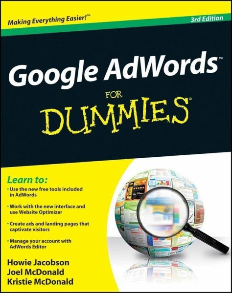 google adwords for dummies ebook epub von howie. Black Bedroom Furniture Sets. Home Design Ideas